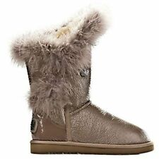 Australia Luxe Women's Nordic Feather Short Taupe Boots 5,8,9,10 EUR 36 39,40,41