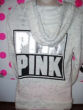 NWT Victoria's Secret PINK Bling Perfect Pullover Hoodie Sweatshirt Jacket