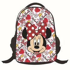 Lovely Minnie & Mickey Mouse Kids Printing School Book Bag Backpack Rucksack New