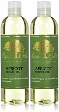 Liquid Gold Apricot Kernel Oil 100% Pure & Organic for Skin Hair and Health Care