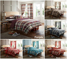 Duvet Quilt Cover Set DECOR bedding With Pillow Cases Single Double King