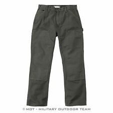 Carhartt WASHED DUCK DOUBLE WORKOUT Pants Trousers,WORK trousers,olive,green,