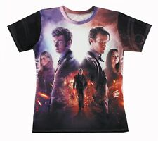 Doctor Who 3D All Over Print Tops T-shirt #WD154