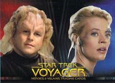 Star Trek Voyager Heroes & Villains Promo Card P2 Rittenouse 2015 NSU Exclusive