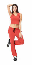 Women Soft Yoga Pants Sweatpants Tracksuit Gym Athletic Fitness Runnin Trousers