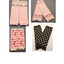 4 PAIRS BABY ARM LEG WARMERS TODDLER SOCKS CHILDREN BOY GIRL