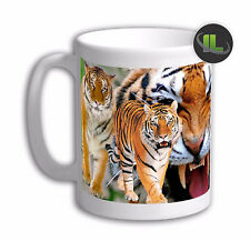 Personalised  TIGER ANIMAL  MUG . Add any Name & Text free   IL- 6216