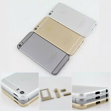 Metal Back Battery Housing Door Case For iPhone 5/5s/5c Replace To Iphone 6 mini