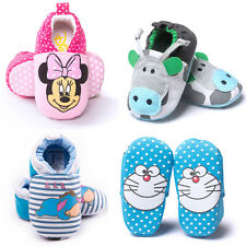 New Casual Baby Boy Girl Soft Soled Infant Walking Crib Shoes Newborn to 18M
