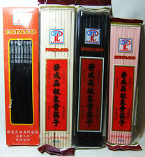 10 Pairs of Melamine Chinese Chopsticks 4 Different Designs 1st Class Delivery