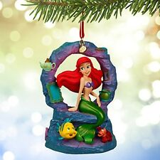 Disney Store 2015 Singing Ariel Musical Sketchbook Ornament