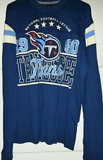 New TENNESSEE TITANS Long sleeve Shirt Distressed PAY Dirt  NFL Licensed APPAREL
