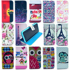 New Fashion Flip Stand Hybrid Wallet Leather Card Case Cover For Apple iPhone