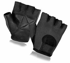 CYCLING GLOVES RIDING BICYCLE FINGERLESS SPORTS WEIGHT LIFTING BIKE HALF FINGER