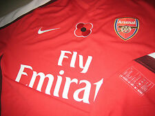 Arsenal NIKE 2008-09 EPL Remembrance (vs Manchester Utd) S/S Player-issue Shirt