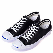 CONVERSE JACK PURCELL SIGNATURE LEATHER Black/White/Natural 149910C A+