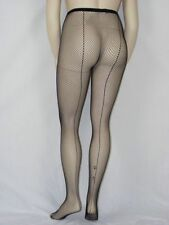 Fishnet pantyhose with backseam plus size STO34