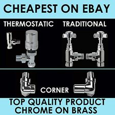 RADIATOR VALVES LUXURY - CHEAPEST ON EBAY - FREE DELIVERY