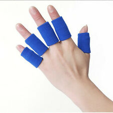 HOT Elasticity Finger Sleeve Support Wrap Arthritis Guard Basketball Volleyball