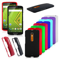 Solid Case Hard Snap On Phone Cover for Motorola Droid Kinzie XT1562 X3 X play