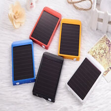 2600mAh Portable Solar Charger Mobile USB Power Bank For iPhone Samsung Camera