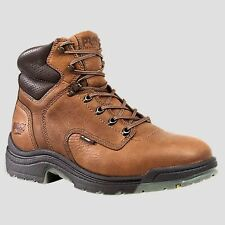 """Timberland Men PRO TiTAN 6"""" Alloy Safety Toe Work Coffee Boot Size 7-17 26063214"""