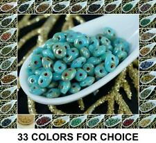 20g Picasso SUPERDUO Czech Glass Seed Beads Two Hole Super Duo 2.5mm x 5mm