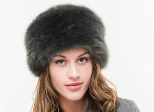 Ladies High Quality Faux Fur Winter Russian Cossack Cloche Style Ski Hat