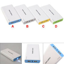 50000mah 12000mah Double USB Power Bank External Battery Charger For Cell Phone