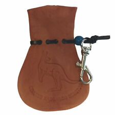 AUSSIE KANGAROO SCROTUM COIN POUCH WITH KEY CHAIN - SMALL SIZE