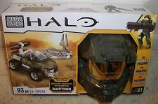 Mega Bloks HALO 97216 Warthog Sealed and New 93 pieces with Bonus Figure
