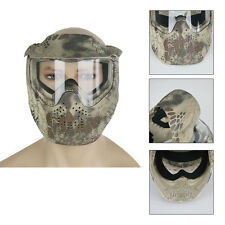 PAINTBALL MASK- Airsoft Full Face Protection With GOGGLES Tactical Gear