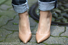 ZARA NUDE POINTED COURT SHOES ALL SIZES