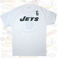 NEW YORK JETS Reebok Sanchez #6 White Jersey NFL T-Shirt