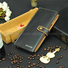 Fashion Men Leather Bifold Money Card Holder Wallet Coin Purse Clutch Pockets