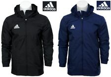 ADIDAS MENS JACKET HOODED ALL WHEATHER TRAINING S M L XL XXL