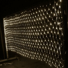 Warm White 210/320 Led Net Curtain Fairy Light Christmas Light Grid lamp 3Mx2M