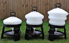 BEC 10, 20 or 30 Ltr Plastic Tripod Drinker for Chickens/Ducks/Poultry/Geese/Hen