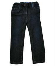 BNWT Girls FULLY LINED Denim Skinny Jeans 1-6y Warm Winter Elasticated Waist NEW