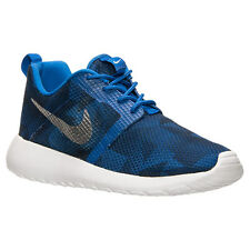 Nike Roshe One Flight Weight (GS) 705485 403 Blue/Blue Junior UK 4-6