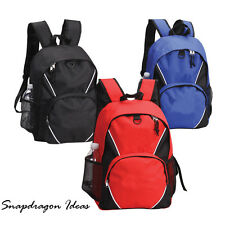 SnapdragonIdeas Stylish Yet Simple Polyester Spacious Compartment Backpack Bag