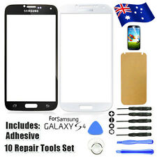 Front Lens Outer Glass For Samsung Galaxy S4 Screen Replacement i9500 i9505 AU