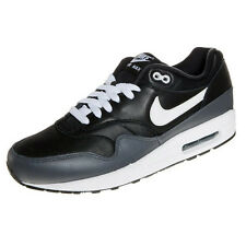 NIKE AIR MAX 1 LTR Black White Dark Grey MENS Sneakers Trainers