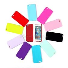 New for Apple iPhone 6S 4.7'' Ultra Soft TPU Silicone Gel Back Case Solid Color