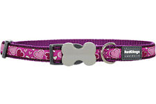 Red Dingo Purple Breezy Love Dog Collar - Choice of Sizes
