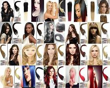 Straight Remy Human Hair Extensions Loop Micro Rings Bead Link Tipped Hair 100S