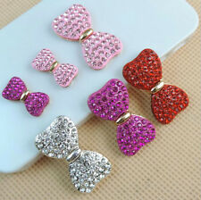 Flat Back Resin Bow tie DIY mobile phone case Shell Decoration Cosmetic