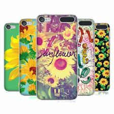 HEAD CASE DESIGNS SUNFLOWER HARD BACK CASE FOR APPLE iPOD TOUCH MP3