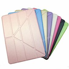 New Ultra Slim Magnetic Smart Cover Stand and Back case for iPad Air 2 iPad 6