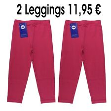 Schiesser - Leggings Girls 2 Pcs Girls Leggings Size 62 68 74 80 86 92